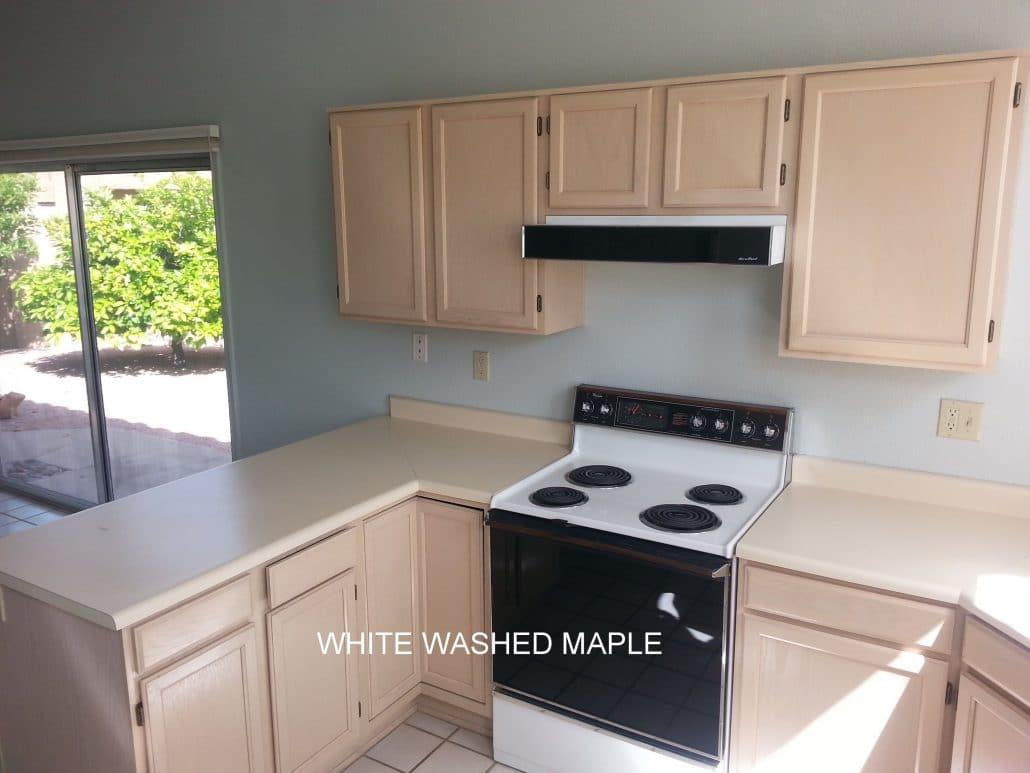 Kitchen cabinets custom maple