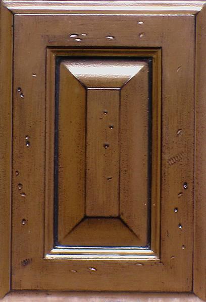 Kitchen cabinets custom brown