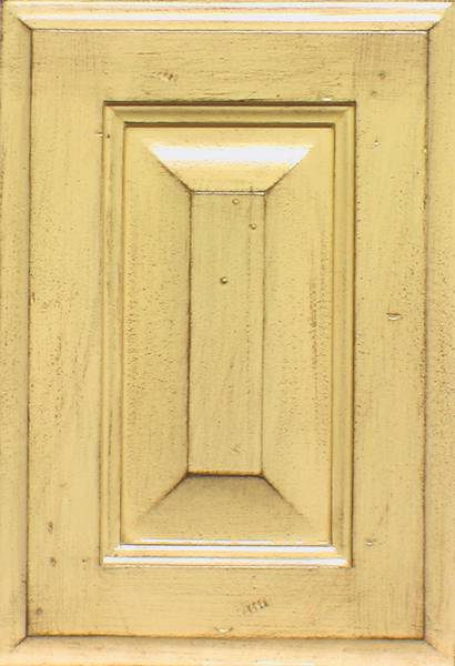 Kitchen cabinets custom yellow
