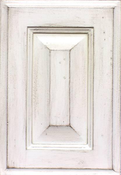 Kitchen cabinets custom white antique look